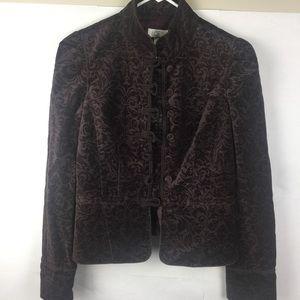 Ann Taylor Loft Velvet Jacket Size 2